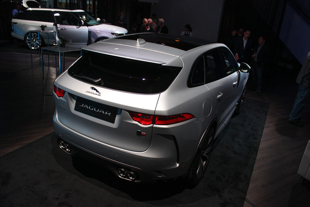 Jaguar F-Pace SVR make Canadian debuts