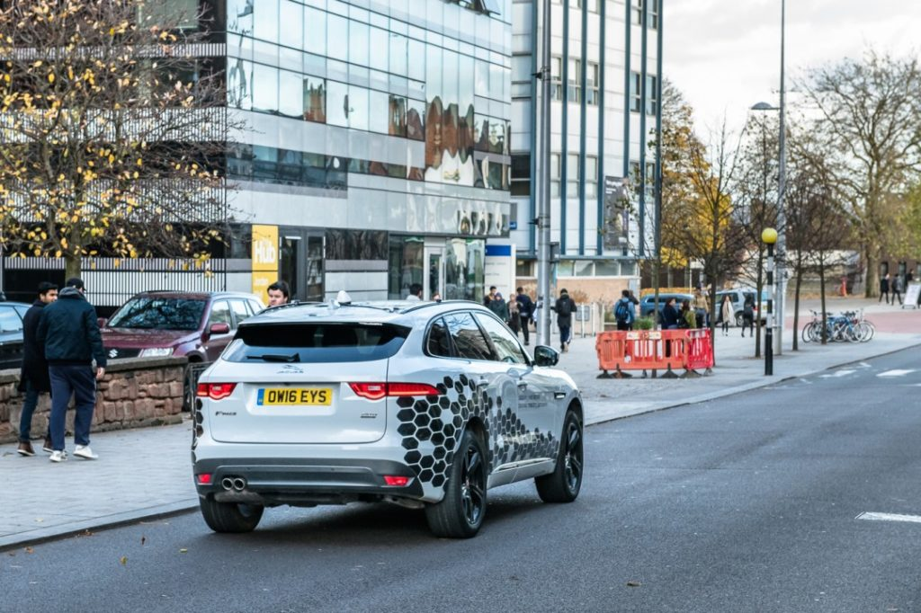 GBP 7.1mn self-driving project completes
