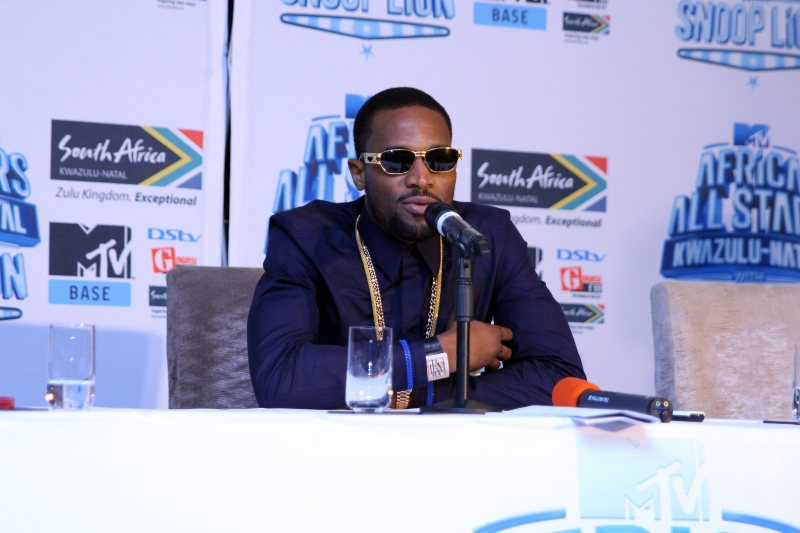 Dbanj at the MTV Africa All Stars press conference (1)