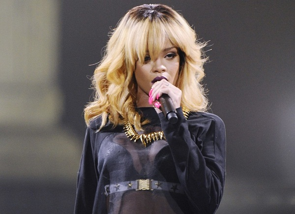 Rihanna In Concert In Montpellier
