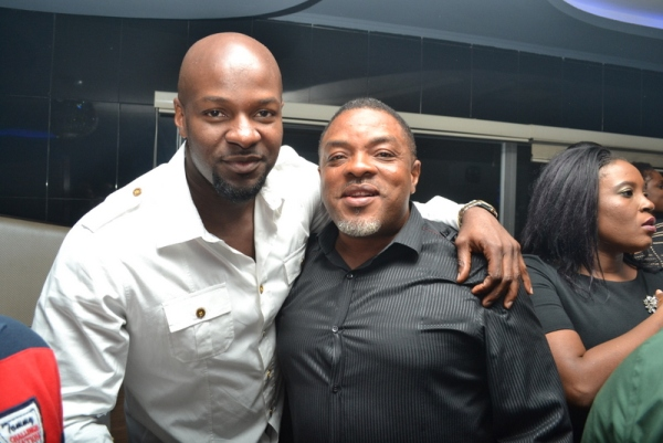 Alex Okosi and guest PHOTOS : Banky W, Julius Agwu, Toolz, Ice Prince, Wizkid, Others Gather To Celebrate Alex Okosi's Birthday In Lagos