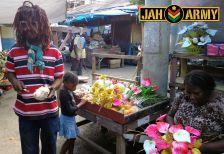 Dread at Port Antonio Market