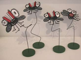Bug Sculptures