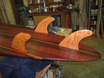 The Sheoak Fins finish it off