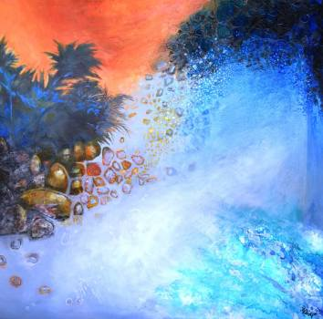 Astrid-Dahl-There-is-Something-About-an-Island-122x122cm