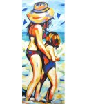 Shannon Hamilton - Mother & Child in the Surf