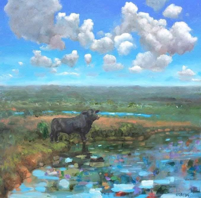 Helen-Norton-Angus-painting