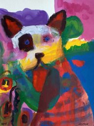 Helen-Norton-Big-Puppy-Spot-painting
