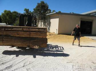 4 Filigree Bed In The Making - selecting timber