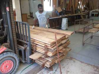 6 Filigree Bed In The Making - finding timber
