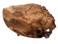 Unique Marri Burl Coffee Table  Fine Furniture Design