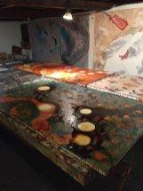 Bec-Juniper-studio-paintings---up-close-and-personal