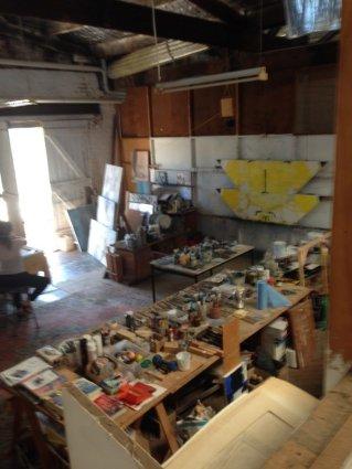 Geoffrey-Wake-Artist-Studio