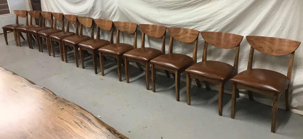 Jellicoe Dining Chairs finished