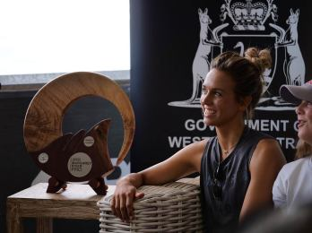 Sally-Fitzgibbon-at-2018-Margaret-River-Pro-press-conference
