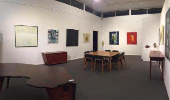 landscape yet not ladscape exhibition opening night