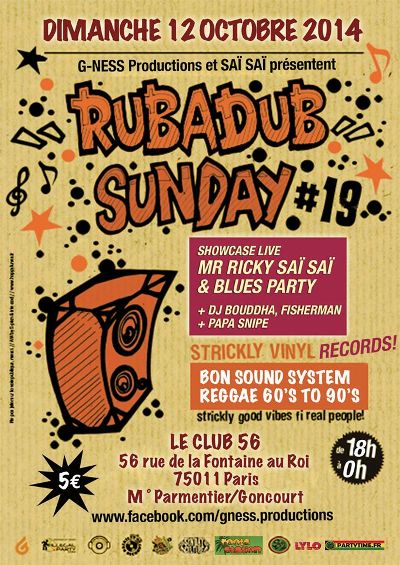 [75] - RUB A DUB SUNDAY # 19