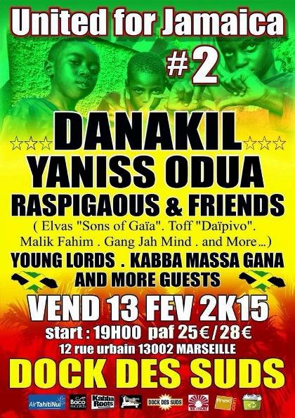 [13] - UNITED FOR JAMAICA 2 - DANAKIL + YANISS ODUA + RASPIGAOUS & FRIENDS