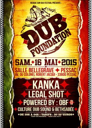 [33] - DUB FOUNDATION - KANKA + OBF + LEGAL SHOT + CULTURE DUB