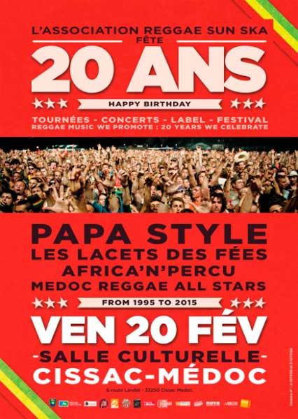 [33] - L'association Reggae Sun Ska fête ses 20 ans