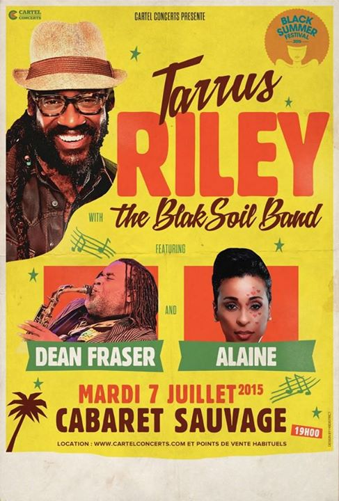 [75] - TARRUS RILEY with THE BLAK SOIL BAND feat. DEAN FRASER and ALAINE