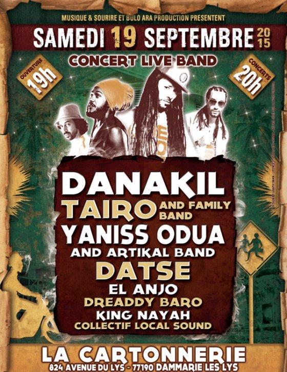 [77] - DANAKIL + TAIRO + YANISS ODUA & ARTIKAL BAND + DATSE