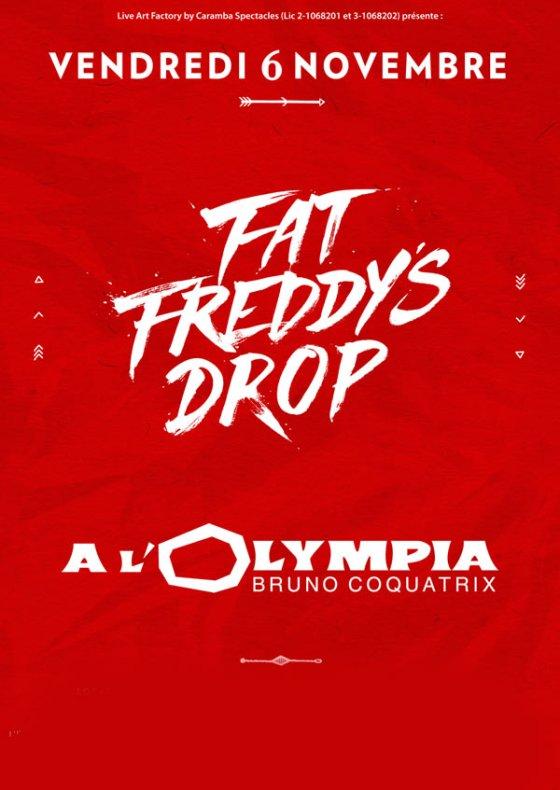 [75] - FAT FREDDY'S DROP + GUEST