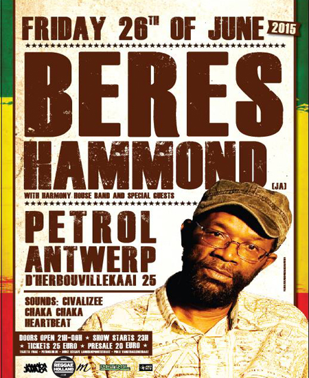 [BE] - BERES HAMMOND & THE HARMONY HOUSE BAND + GUESTS