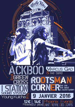 [37] - ROOTSMAN CORNER #1 - MARCUS GAD - ACKBOO feat. GREEN CROSS - I-STATION SOUND SYSTEM