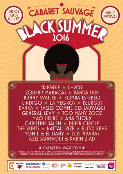 [75] - BLACK SUMMER FESTIVAL 2016 - U ROY + NATTALI RIZE + THE SKINTS