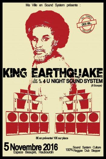 [59] - KING EARTHQUAKE + 4 U NIGHT SOUND SYSTEM