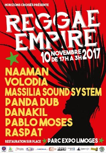 [87] - REGGAE EMPIRE FESTIVAL #2 - NAÂMAN + MASSILIA SOUND SYSTEM + DANAKIL + PANDA DUB + PABLO MOSES