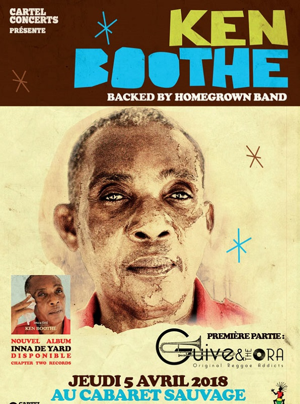 [75] - KEN BOOTHE & THE HOMEGROWN BAND