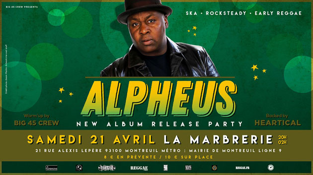 [75] - ALPHEUS Backed by HEARTICAL SOUND + BIG 45 CREW