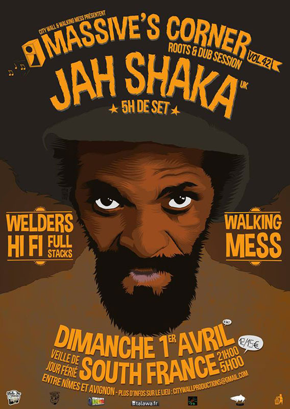 [30] - MASSIVE'S CORNER #42 - JAH SHAKA powered by WELDERS Hi-Fi & WALKING MESS