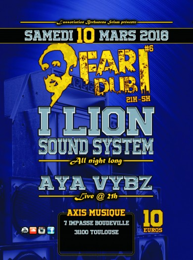 [31] - FARI DUB SESSION #6 - I LION SOUND SYSTEM