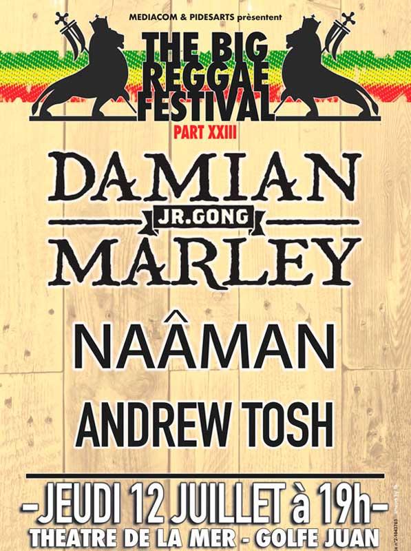 [06] - THE BIG REGGAE FESTIVAL PART XXIII - DAMIAN MARLEY+ NAAMAN + ANDREW TOSH