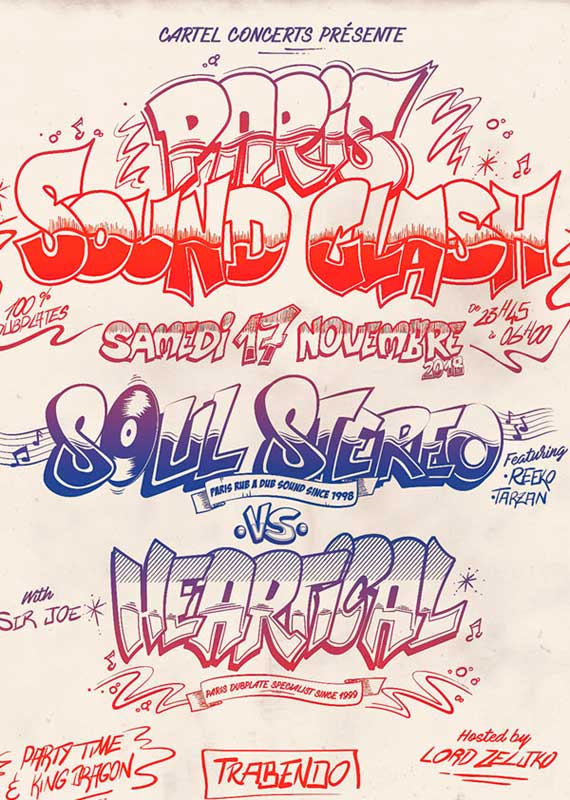 [75] - PARIS SOUND CLASH - SOUL STEREO SOUND SYSTEM Vs HEARTICAL SOUND