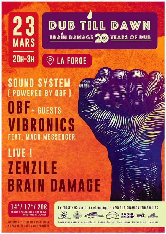 [42] - BRAIN DAMAGE + OBF + VIBRONICS + ZENZILE