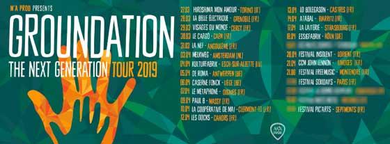groundation tour 2019