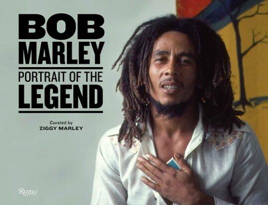 bob marley portrait of the legend banner