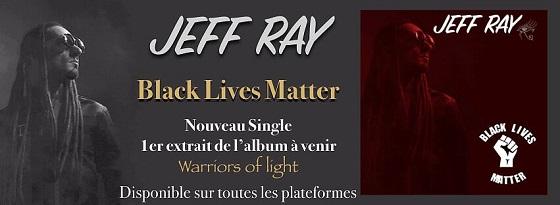 jeff ray black lives matter banner