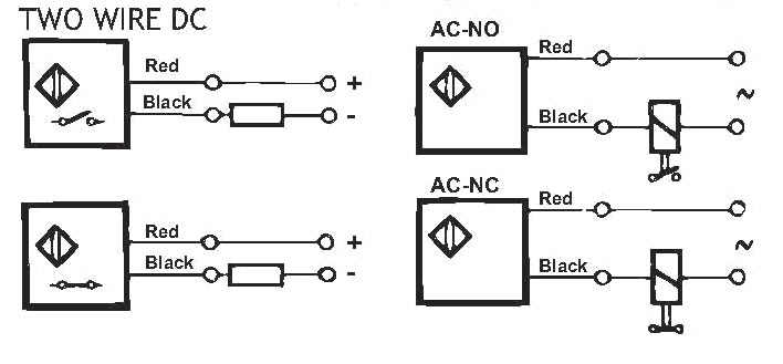 Two Wire Proximity Switch Wiring Diagram. Electrical
