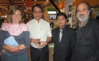 Sophie Cooke, Kalim Ahmed, Mujeeb Jaihoon, Michael Rothenberg