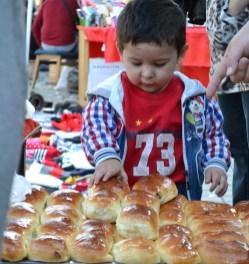 A little boy at Chorsu Bazaar, Tashkent