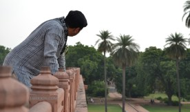 View from Humayun's Tomb, Delhi