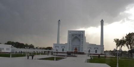 White Masjid, Tashkent