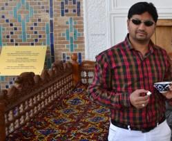 Hospitality at Shakhi-Zinda