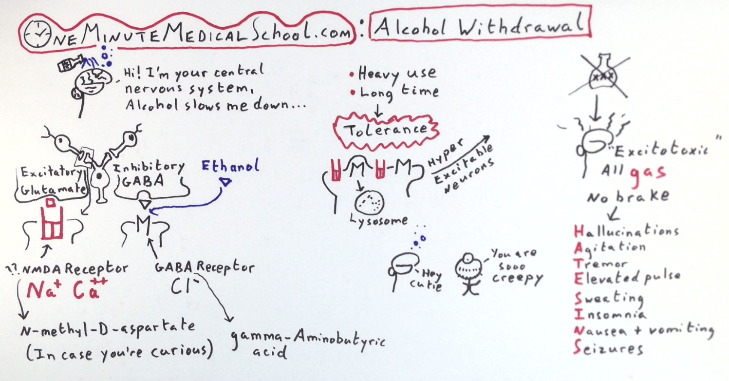 Do Not Use Hydroxyzine for Alcohol Withdrawal! | Jail Medicine