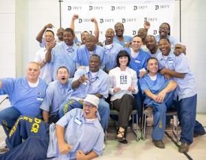 Entrepreneurs-in-Training at California State Prison-Solano in Vacaville, Calif.